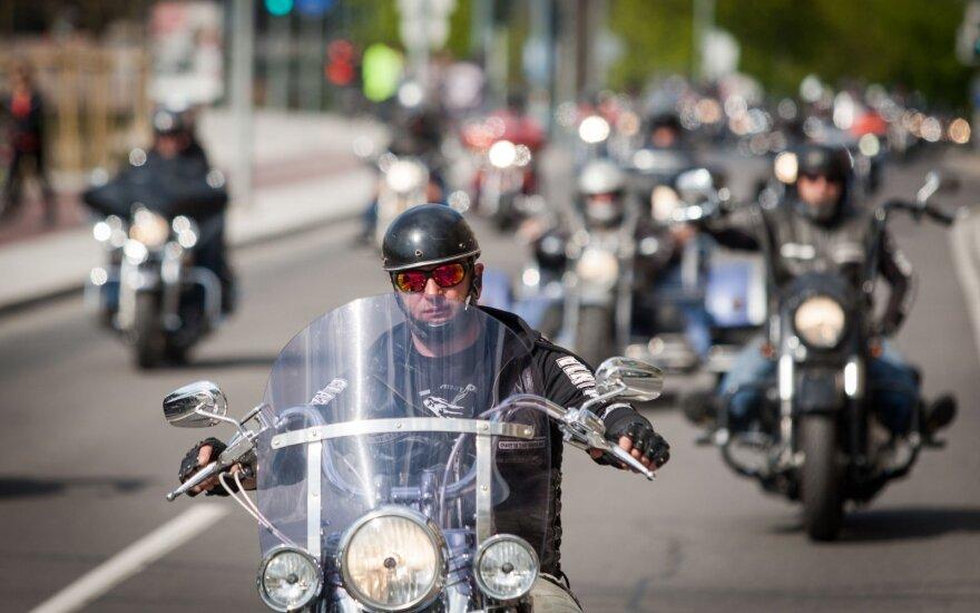 Motociklininkai (asociatyvi nuotr.)