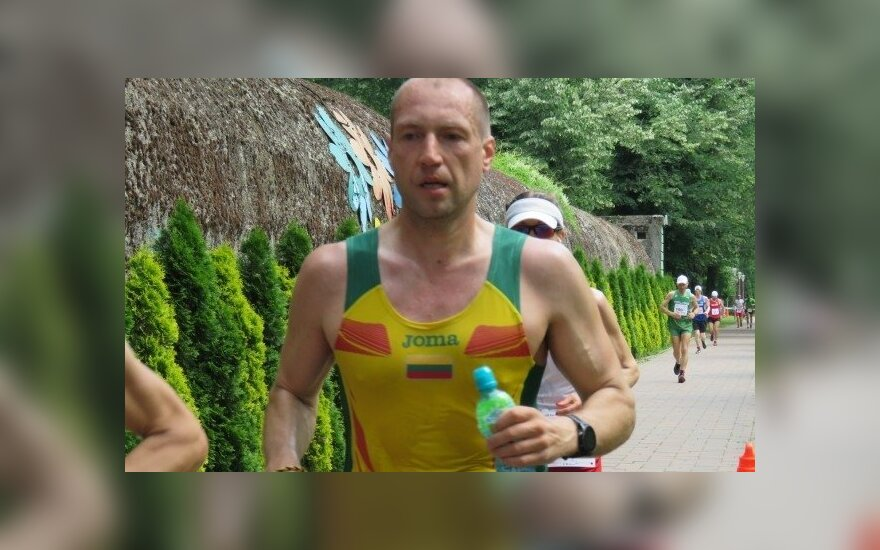 Lietuvos 100 km rekordininkas Aleksandras Sorokinas