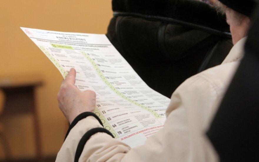Balsavimas iš anksto: kokius dokumentus jums turi išduoti?