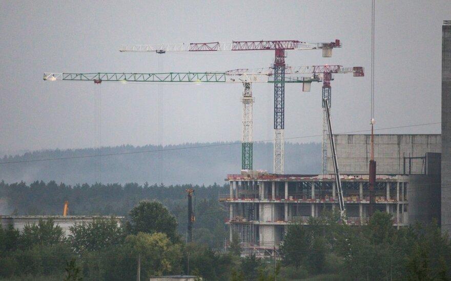Avulis apie situaciją statybų sektoriuje: nuo naujų projektų stengiamasi susilaikyti