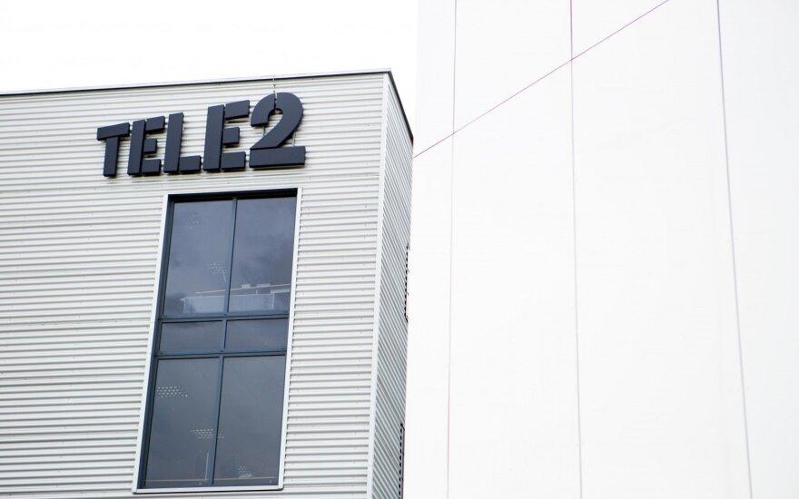 """Pernai """"Tele2"""" pajamos buvo 16,6 proc. didesnės"""