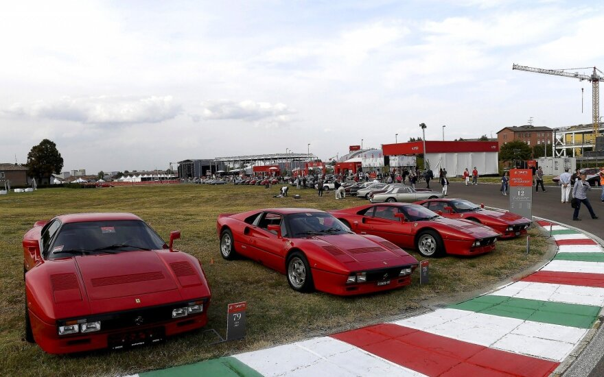 """""""Ferrari"""" stilingai atšventė 70-ąjį gimtadienį"""