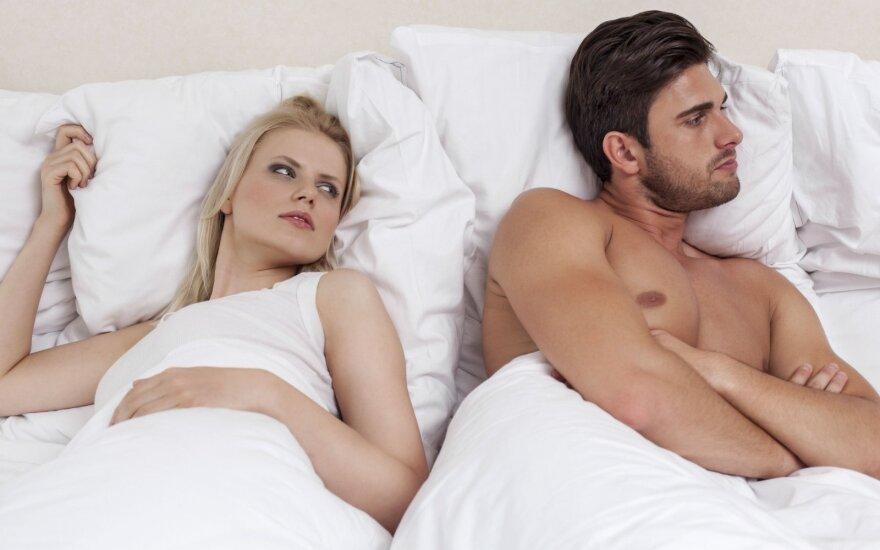 10 priežasčių, kodėl vyrai nenori mylėtis