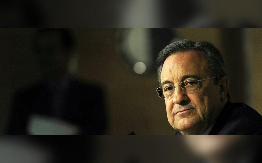 """Florentino Perezas - Madrido """"Real"""" klubo prezidentas"""