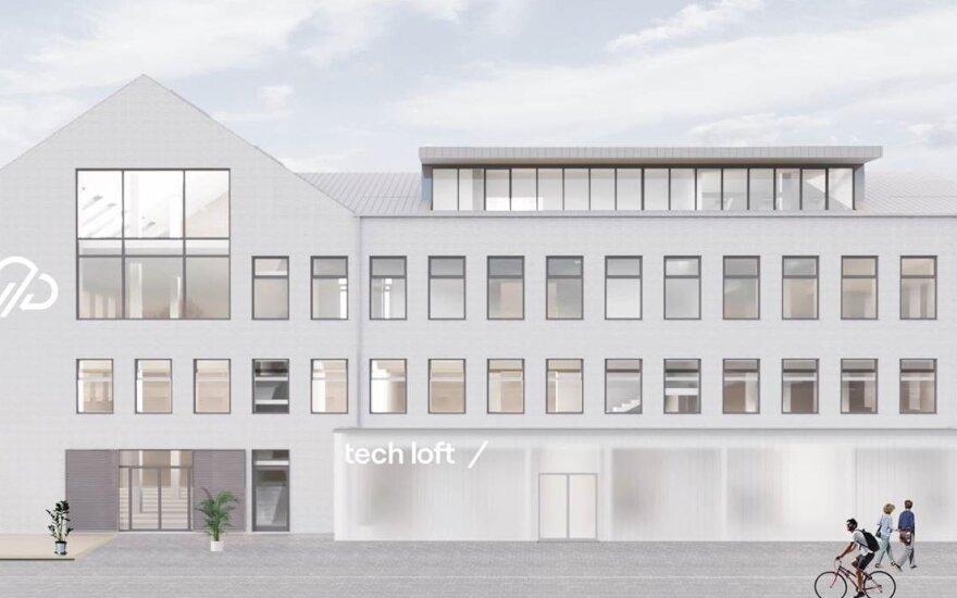 """Naujamiesčio startuolių centras """"Tech Loft"""""""