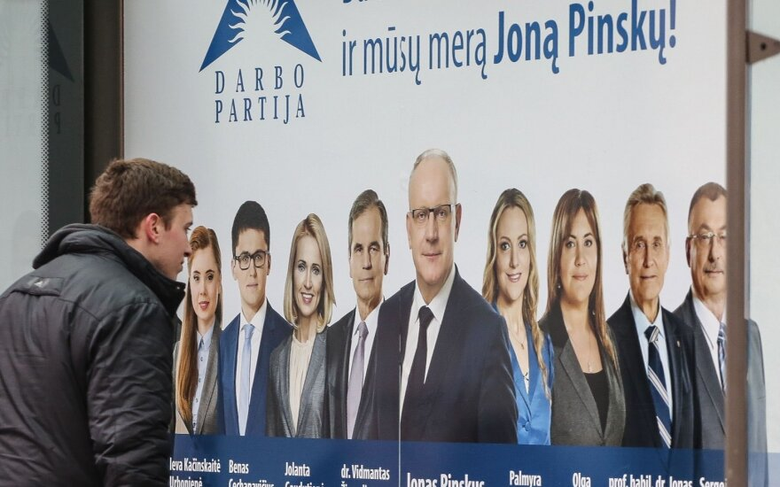 Darbo partijos politinė reklama