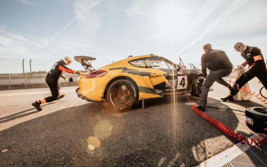 """""""Porsche Baltic"""" pasirodymas Estijoje – vėl užlipta ant apdovanojimų pakylos laiptelio"""