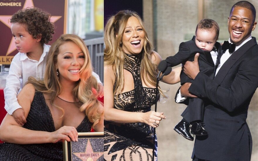 Mariah Carey su šeima