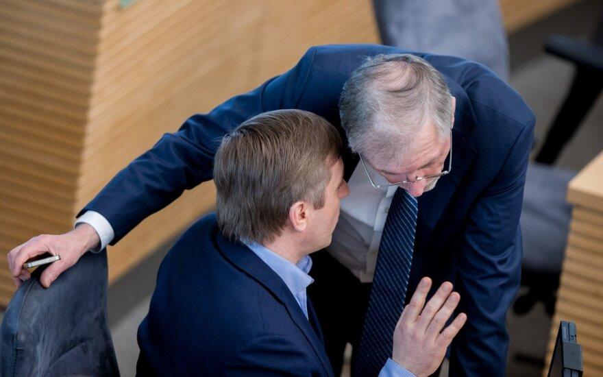 Ramūnas Karbauskis, Gediminas Kirkilas