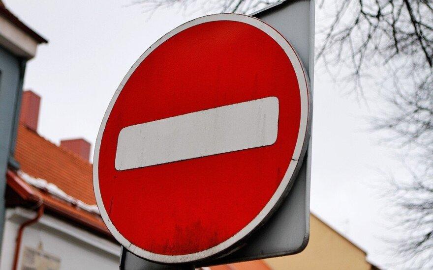 Vairuotojus įspėja: dvejose Vilniaus gatvėse mėnesį bus ribojamas eismas