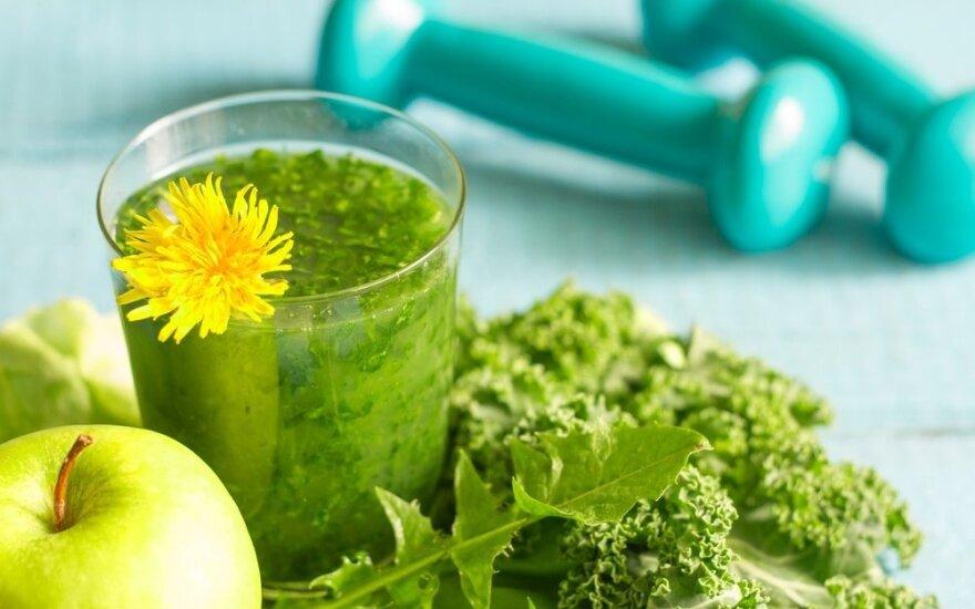 Žaliasis Gražinos Gum kokteilis imunitetui stiprinti