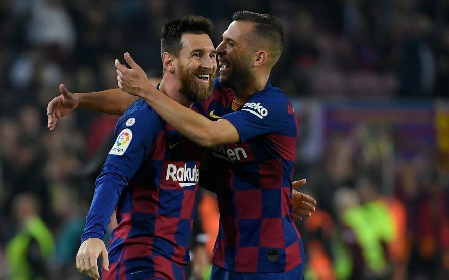 Lionelis Messi, Jordi Alba