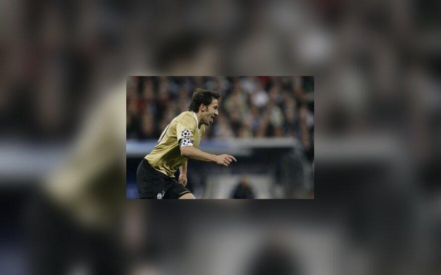 """Čempionų lygoje - užtikrinta """"Juventus"""" pergalė"""