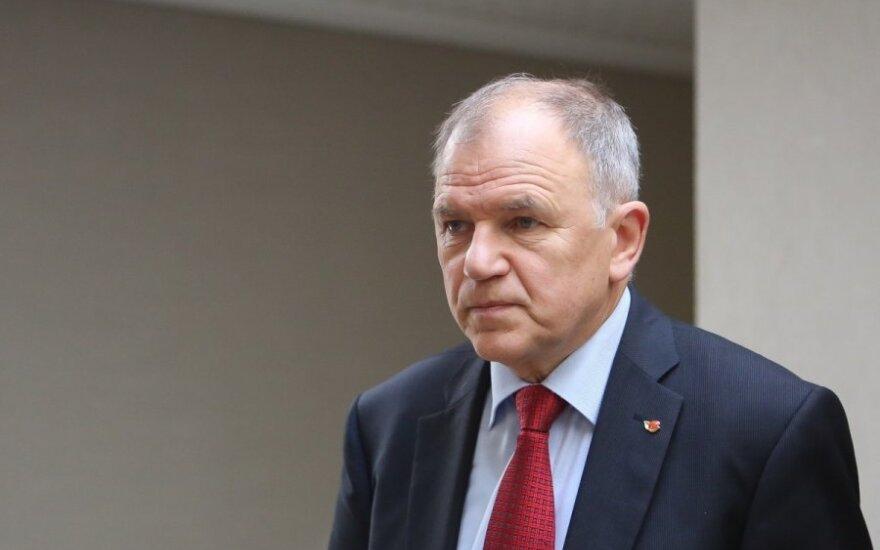 V. Andriukaitis prabilo apie eurokomisaro kėdę