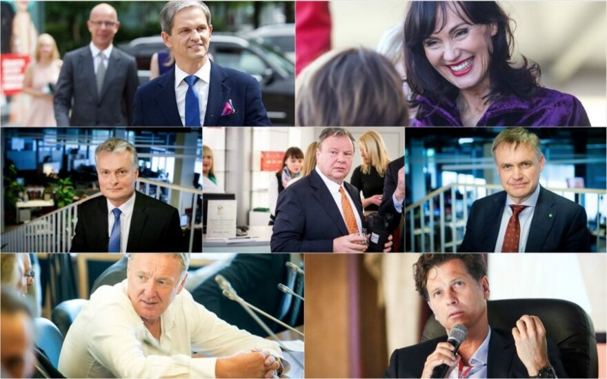 Lithuania's most influential: entrepreneurs and economists