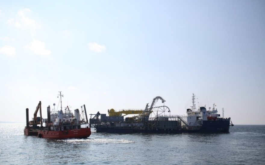NordBalt cable laying ships