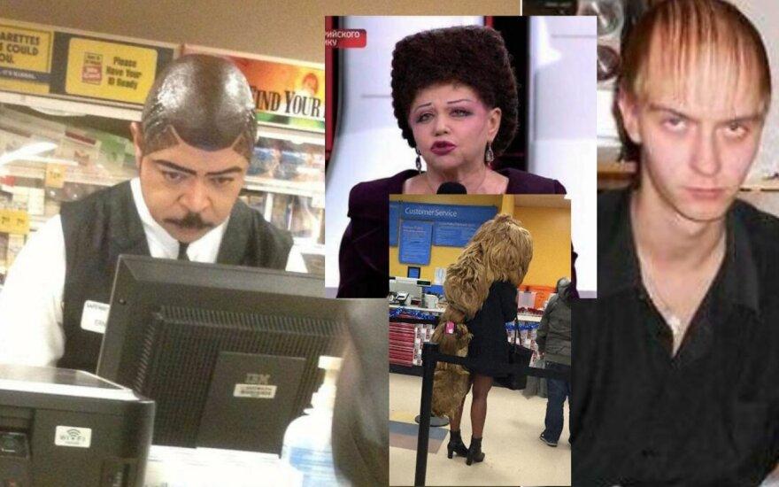 Nenusisekusios šukuosenos