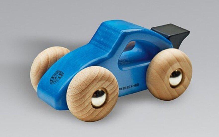 """Medinis žaislinis """"Porsche"""" automobilis"""