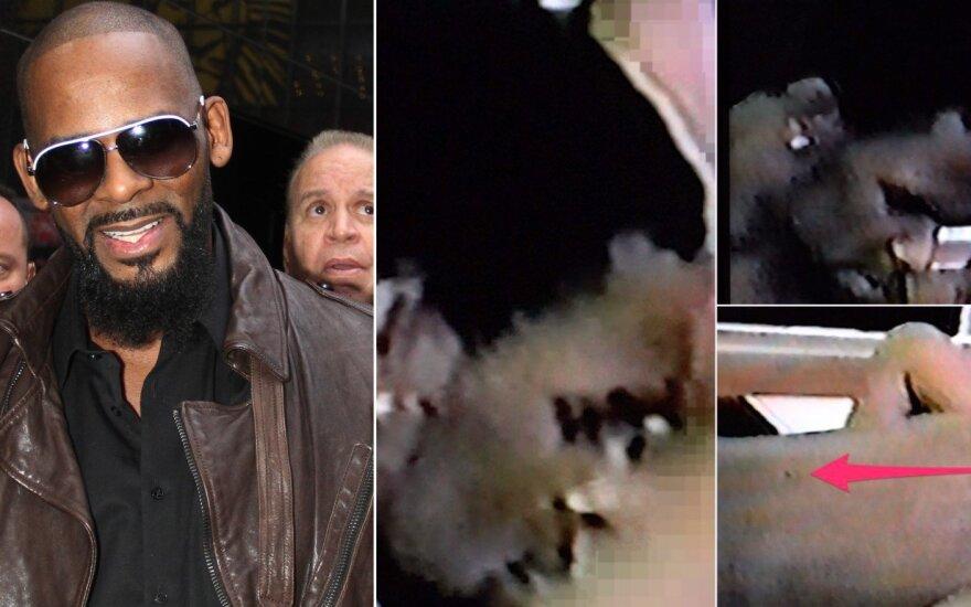 R Kelly ir kadrai iš jo sekso juostos