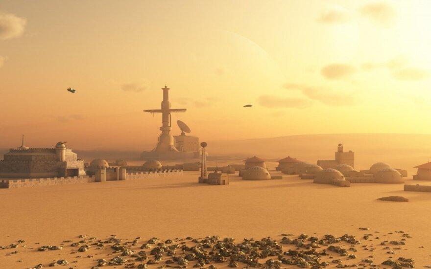 Marsas (Asociatyvi iliustracija)