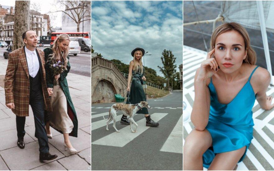Emilija Gutauskaitė pristato suknelių kolekciją /Foto: Justina Rau Photography