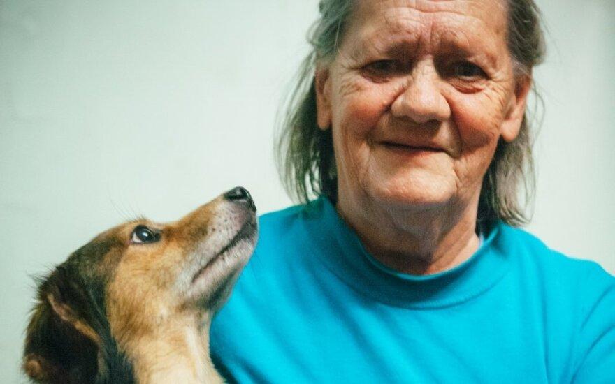 Močiutė Pranutė: nėra kada liūdėti, kai šalia - tokia kompanija