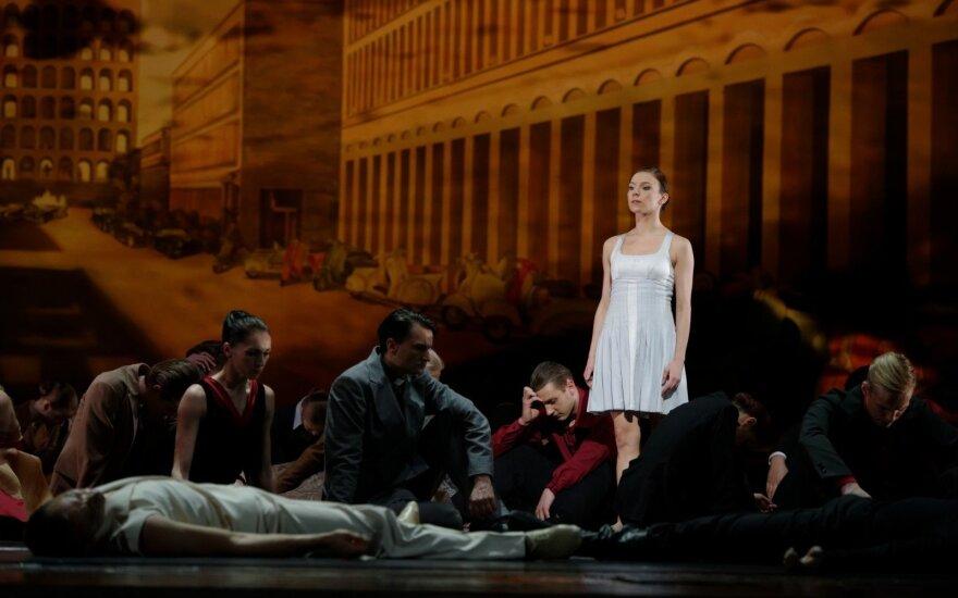 """Baleto """"Romeo ir Džuljeta"""" pristatymas"""