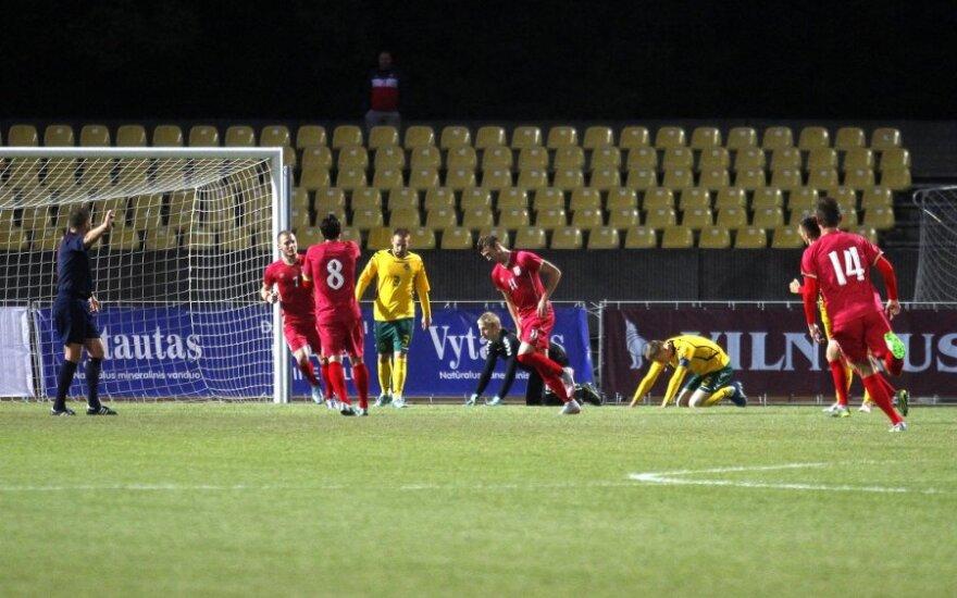 U - 21 Europos futbolo čempionato atranka. Lietuva - Serbija