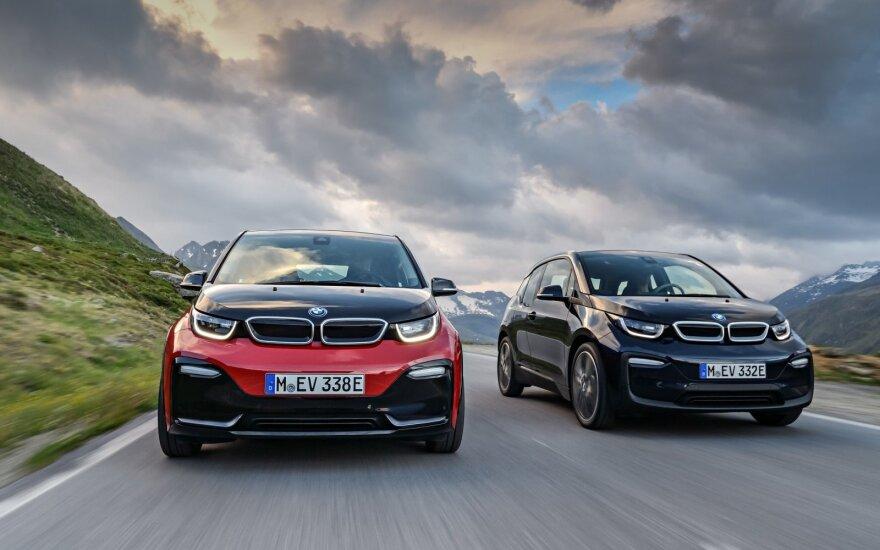 """BMW """"i3"""" ir BMW i3s"""""""