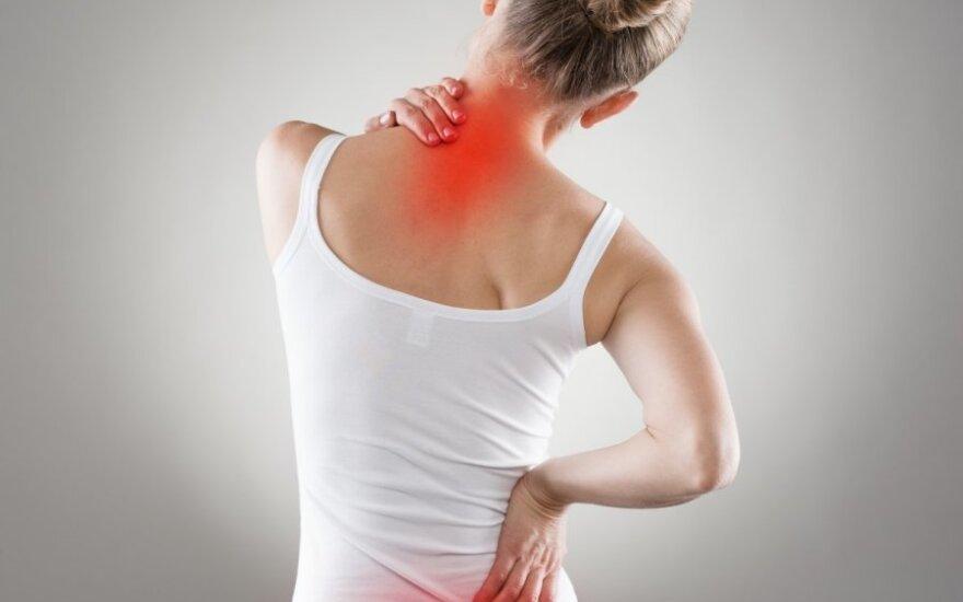 Nugaros skausmai: kodėl atsiranda ir kaip gydyti?