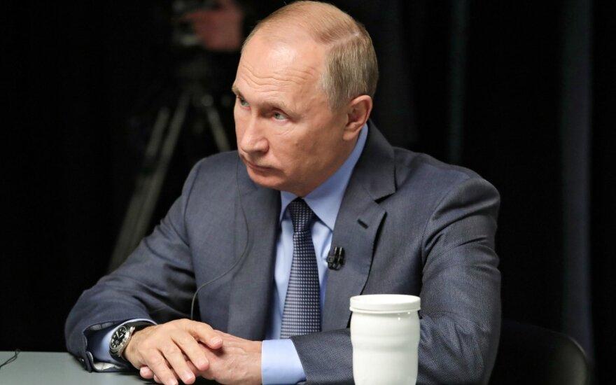 Putinas duoda interviu televizijai