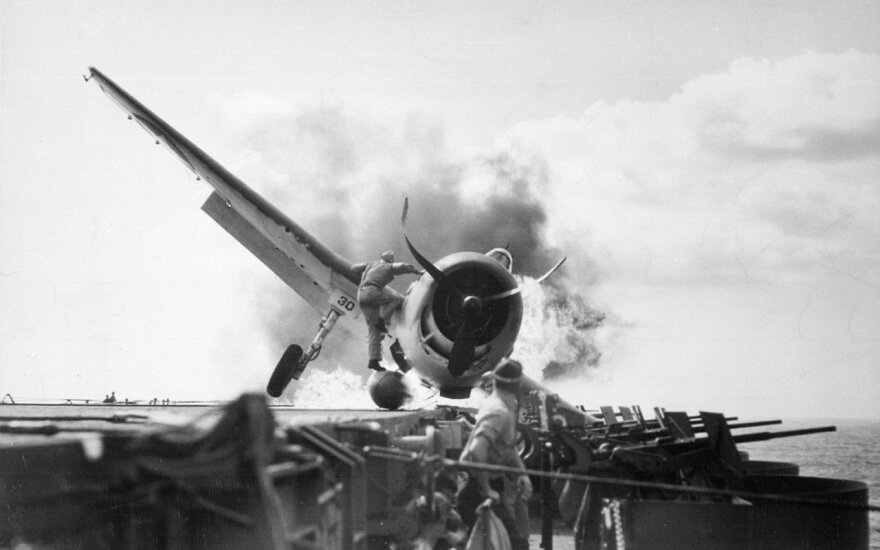 Orlaivio katastrofa. 1943-ieji. Asociatyvi nuotr.