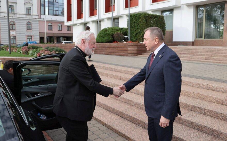 Baltarusijoje lankosi aukšto rango Vatikano diplomatas