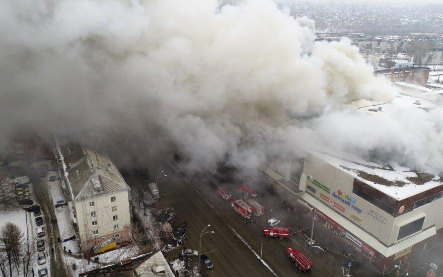 Tragedija Rusijos prekybos centre: aukos skaičiuojamos dešimtimis