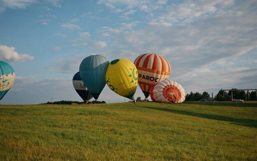 Oro balionai (M. Vauro nuotr.)