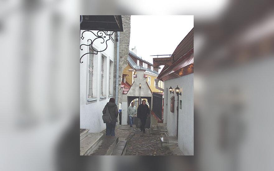 Talinas, senamiestis, gatvė