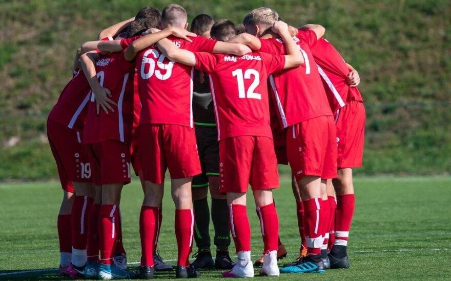 Jaunimo futbolas (Foto: Kazys Paulauskas)
