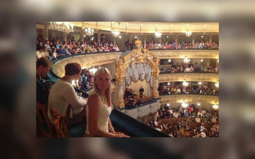 Eglės Jackaitės viešnagė Sankt Peterburge