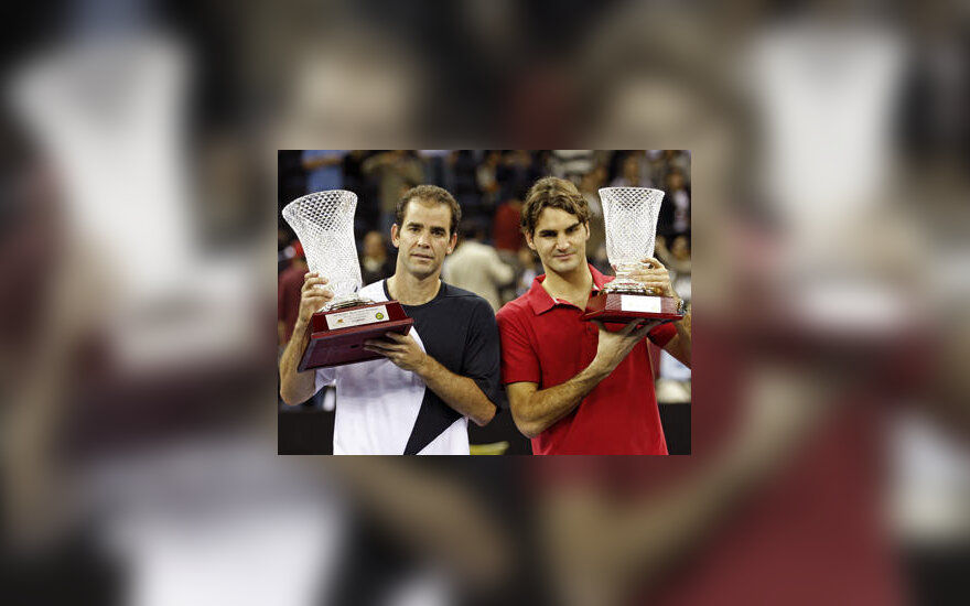 Pete`as Samprasas ir Roger Federeris