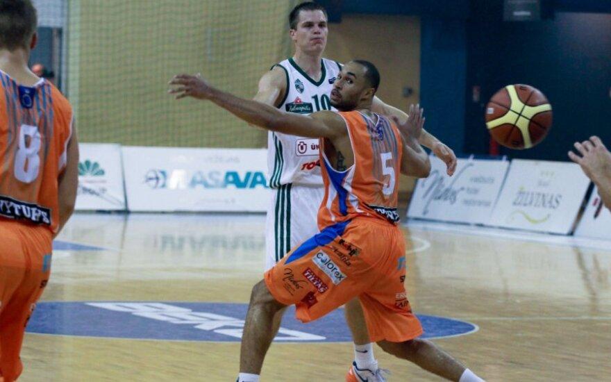 BBL čempionate - pirma Palangos krepšininkų pergalė