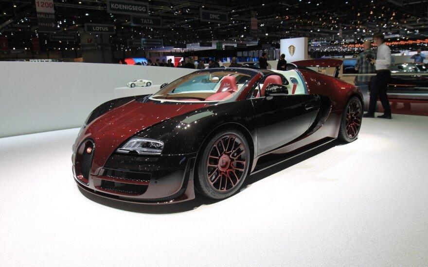 Paskutinis Bugatti Veyron superautomobilis