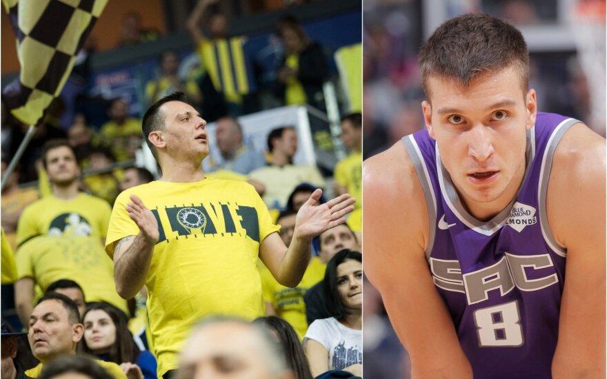 """Fenerbahče"" fanai, Bogdanas Bogdanovičius (Foto: / DELFI, Getty images)"