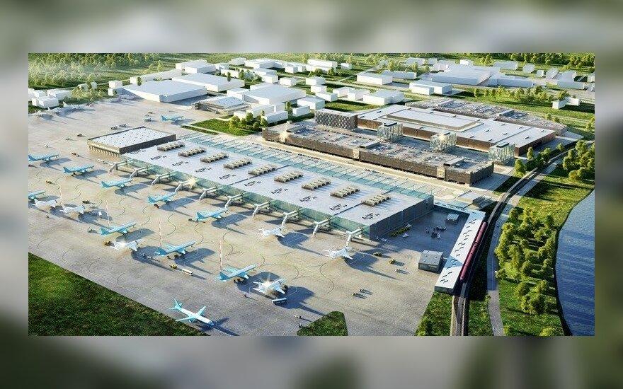 Lietuvių statytam Maskvos oro uostui – D. Medvedevo dėmesys