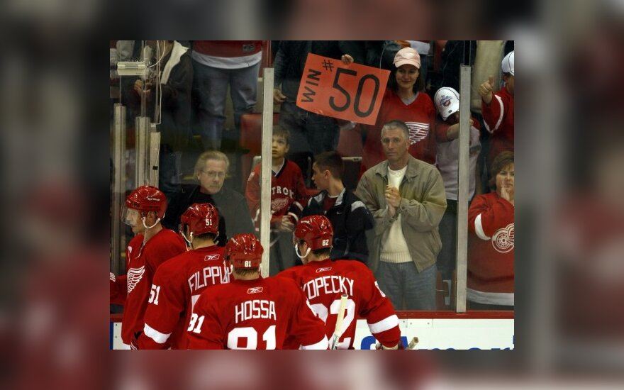NHL čempionas iškovojo 50-ą pergalę