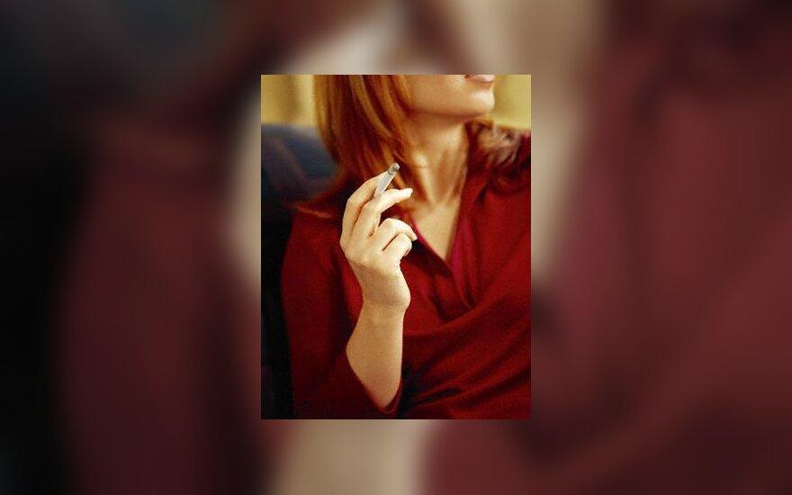 cigaretė, rūkymas, rūkantis moteris