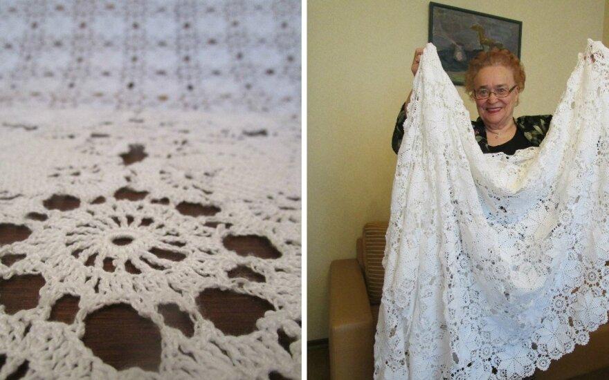 Po pokalbio su anūku nusprendė sukurti įspūdingą dovaną Lietuvos 100-mečio proga