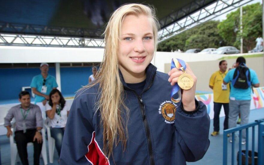 Rūta Meilutytė (gymnasiade-brasilia2013.com nuotr.)