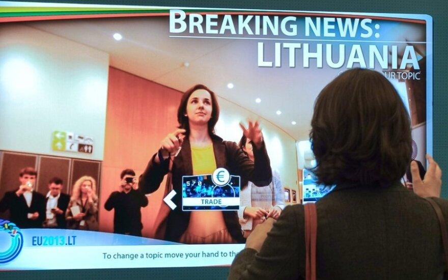 Naujasis politinis sezonas Europos Parlamente prasidėjo interaktyviu Lietuvos pristatymu