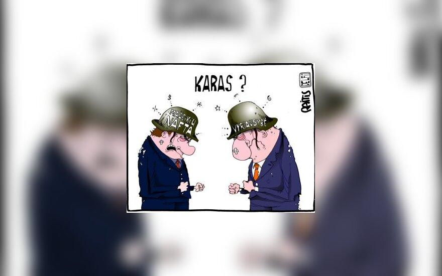 Mažeikių nafta - Vyriausybė