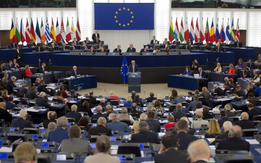 Prekybos karas: ES atsakomieji tarifai JAV bus parengti liepą